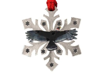 California Condor Snowflake Ornament