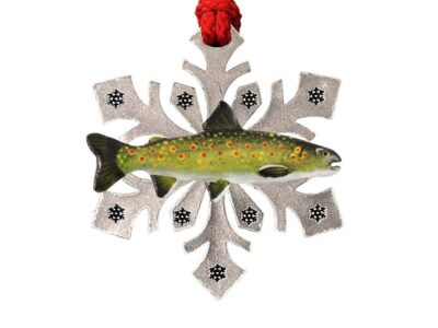 Bull Trout Snowflake Ornament