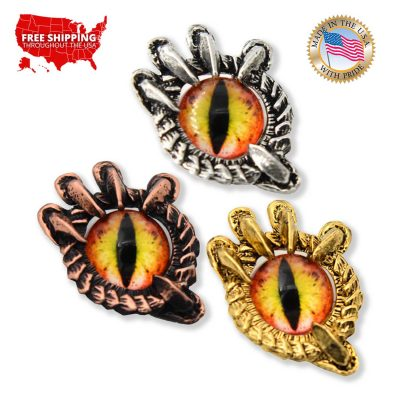 Dragon Claw / With Red Eye Pin