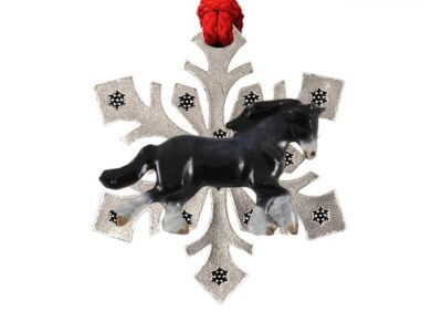 Clydesdale Body Snowflake Ornament