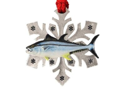 Bluefin Tuna Snowflake Ornament