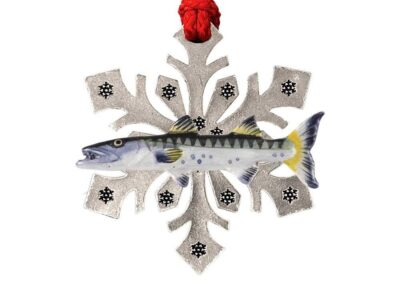 Barracuda Snowflake Ornament