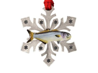 Bluefish Snowflake Ornament