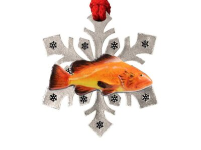 As Yelloweye Rockfish Snowflake Ornament