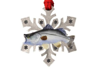 Barramundi Snowflake Ornament