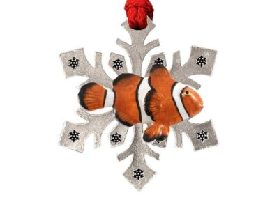 Clown Fish Snowflake Ornament