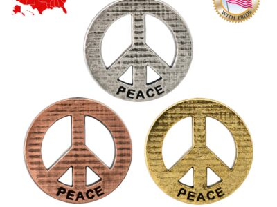 Peace Imprinted W / Peace Magnet