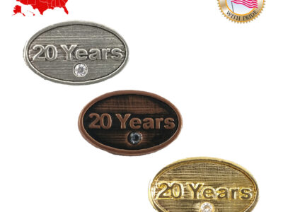 20 Years Magnet