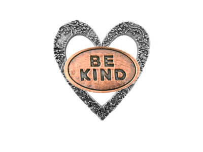 """Be Kind"" Heart Pin"