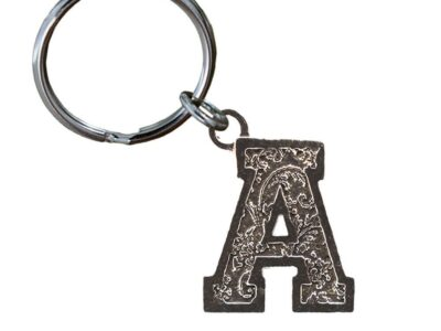 A Letter Keychain