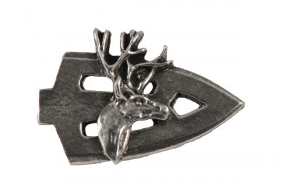 Broadhead With Deer Head Pin