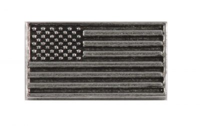 American Flag Profile Pin