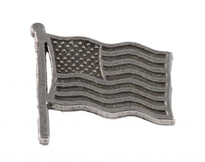 American Flag Waving Pin