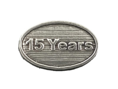 15 Years Magnet