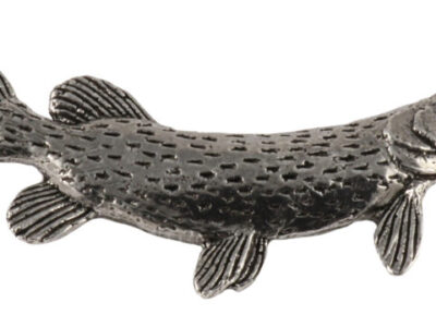 Northern Pike Large Premium Pin
