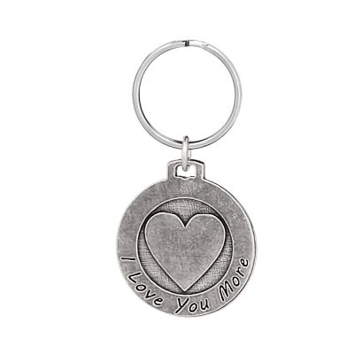 I Love You More Keychain