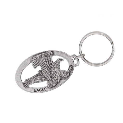 Bald Eagle Flying Keychain
