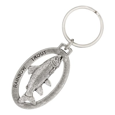 Rainbow Trout Small Keychain