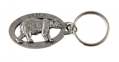 Grizzly Full Body Keychain