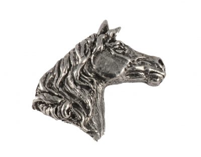 Arabian Stallion Head Pin