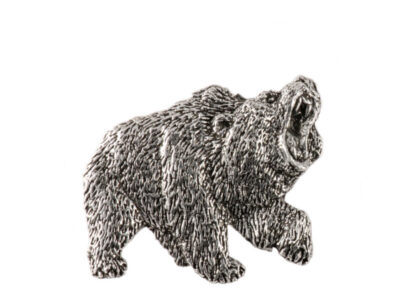 Grizzly Full Body Premium Pin