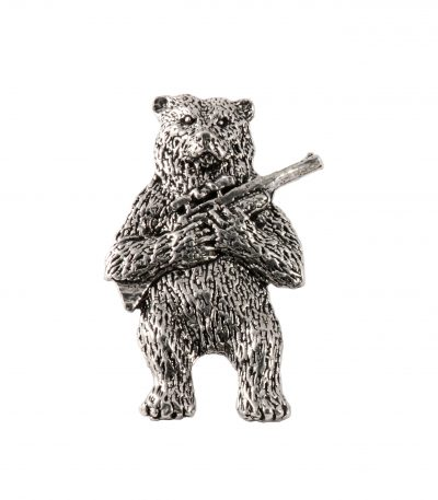 Bear With Gun