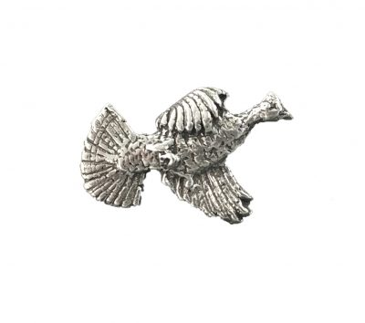 Ruffed Grouse Flushing Tie Tack