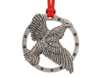 Bobwhite Quail Flying Ornament