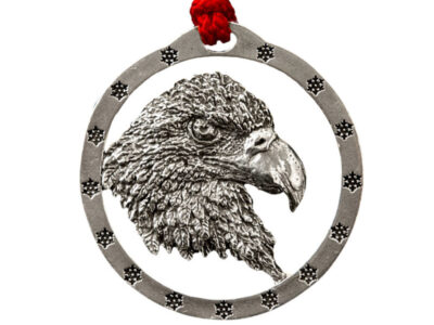 Bald Eagle Head Ornament