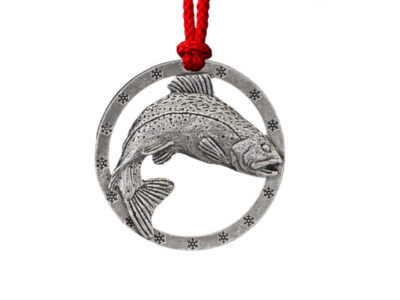 Brook Trout Leaping Ornament